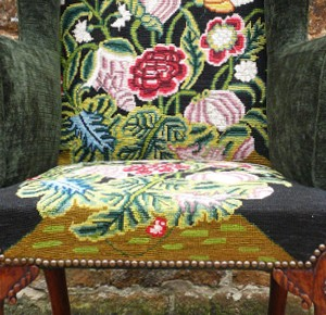 Early 18th century wing chair