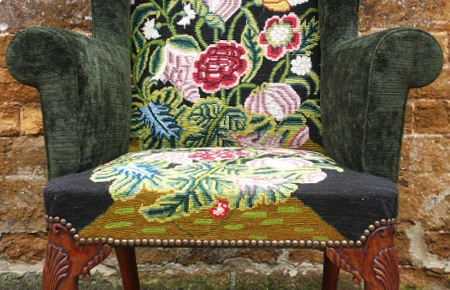 Restoring an early 18th century wing chair