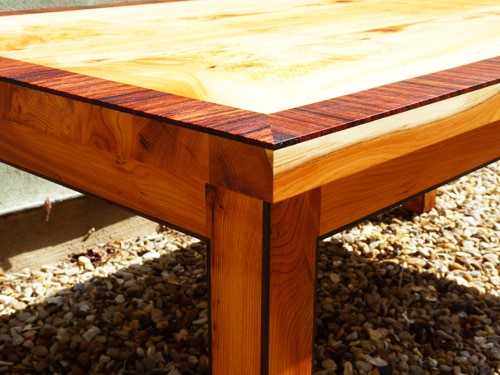 Merveilleux Three Yew Wood Tables