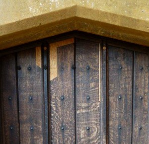 Arts & Cafts oak door restoration