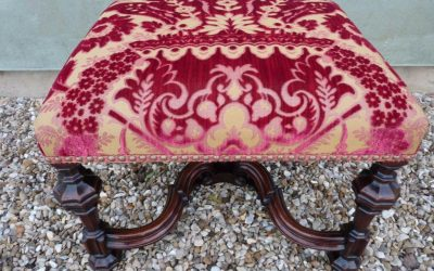 Late 17th Century Walnut Stool
