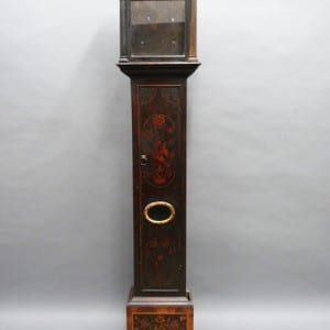 17th century marquetry clock