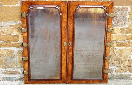 18th century walnut doors