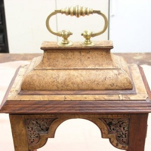 Restored Burr Kingwood clock