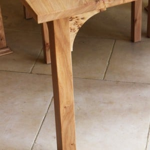 Scottish elm table & chairs